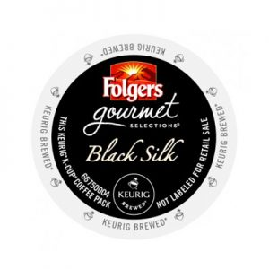 Folgers Black Silk Coffee Keurig