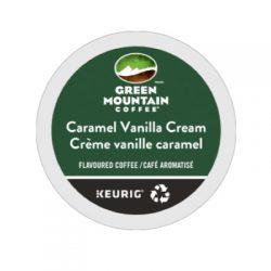 Green Mountain Caramel Vanilla Cream K-cups