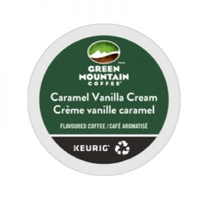 Green Mountain Caramel Vanilla Cream K-cups