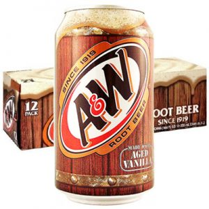 a&w root beer 12 packs