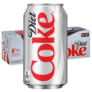 diet coke 12 packs