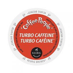 Keurig Coffee People Turbo Caffeine