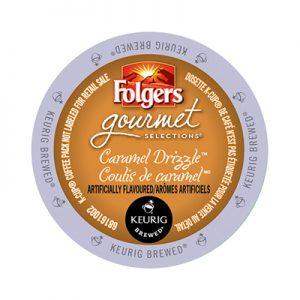Keurig Folgers Caramel Drizzle