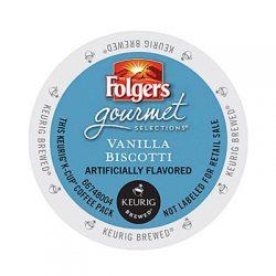 Keurig Folgers Vanilla Biscotti