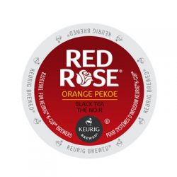 Keurig red rose orange pekoe tea