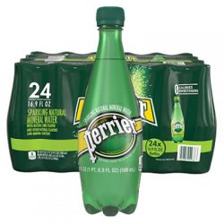 perrier bottle water