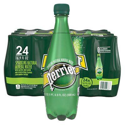 perrier bottle water