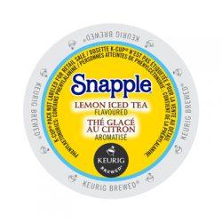 keurig snapple lemon iced tea