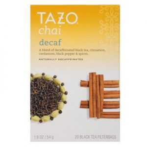 tazo decaf chai tea