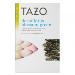 tazo decaf lotus blossom green tea