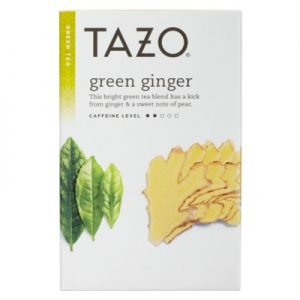 tazo green ginger tea