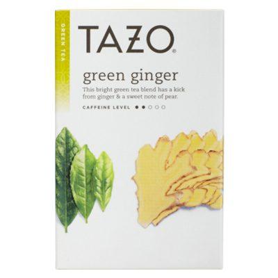 tazo green ginger tea