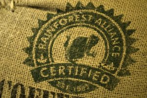 Rain Forest Alliance Certified Coffee