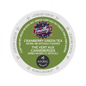 Timothy's Cranberry Green Tea Keurig