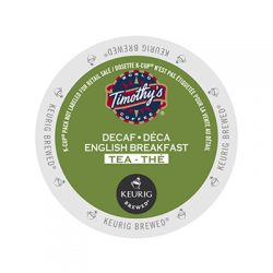 Timothy's Decaf English Breakfast Keurig