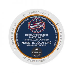 Timothy's Decaf Hazelnut