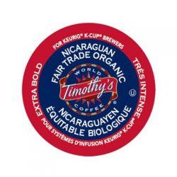 Timothy's Nicaraguan Fair Trade Organic EXTRA BOLD