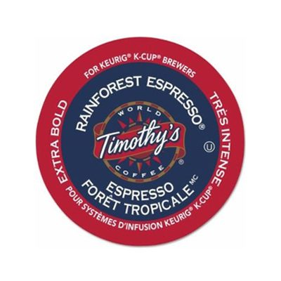 Timothy's Rainforest Espresso Keurig