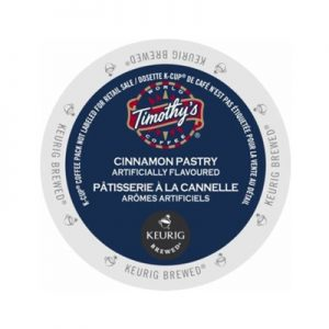 timothys cinnamon pastry coffee