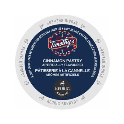 timothys cinnamon pastry coffee