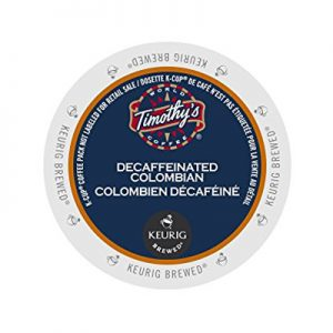 timothy's decaf Columbian