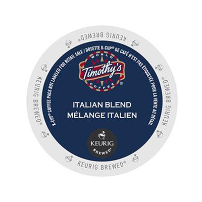 Timothy's Italian Blend coffee