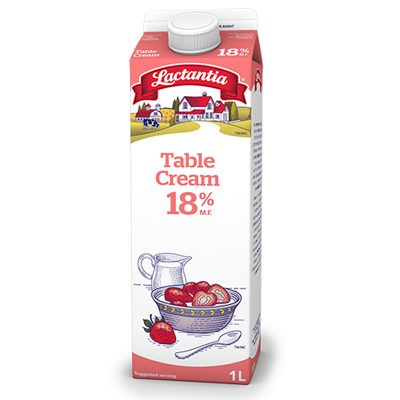 18% Table Cream