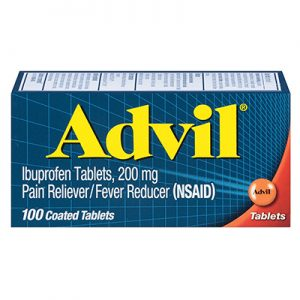 Advil 100 tablets