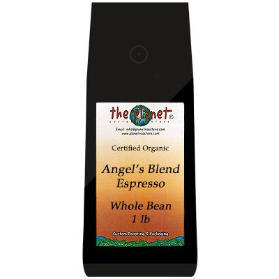 Angels Blend Espresso whole bean
