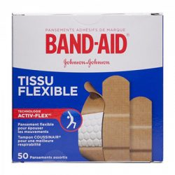 Band aid 50 assorted sizes