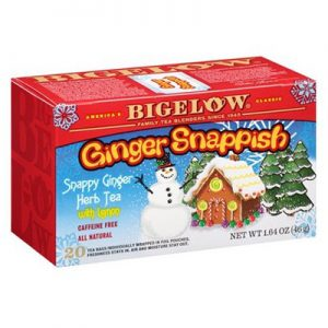 Beglow Ginger Snappish tea