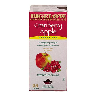 Bigelow Cranbery Apple Herbal Tea