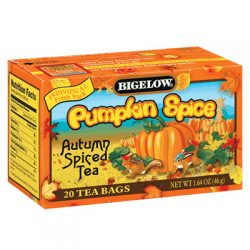 Bigelow Pumpkin Spice Tea