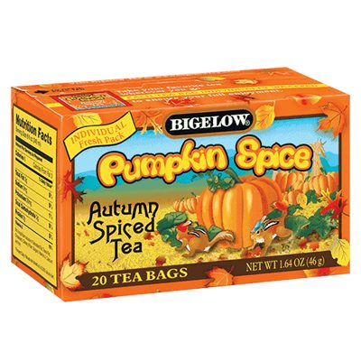 Bigelow Pumpkin Spice Tea
