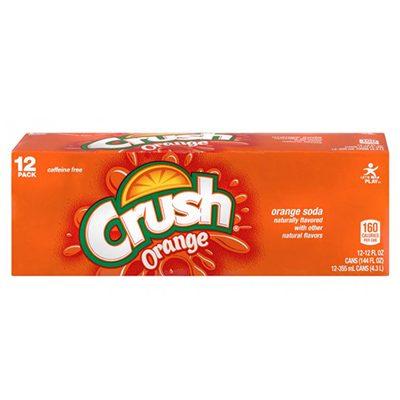 Crush Orange Pop Soda