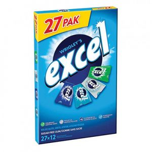 Excel 27 pack gum
