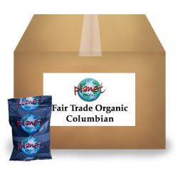 Fair Trade Organic Columbian Portion Pack Coffee