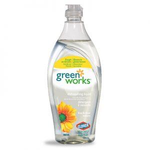 Green Works Dishwashing Liquid