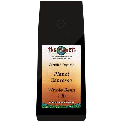 Planet Espresso Whole Beans
