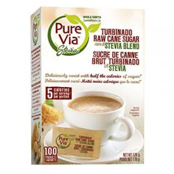 Pure Via Turbinado Raw Sugar Stevia Blend