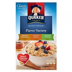 Quaker Flavor Variety Packs