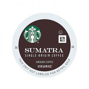 Starbucks Sumatra Keurig