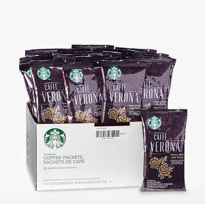Starbucks Caff 232 Verona Portion Packs 2 5 Oz X 18