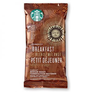 Starbucks Breakfast Blend Portion Packs Coffee