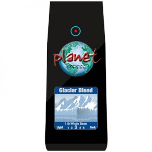 Glacier Blend coffee whole beans