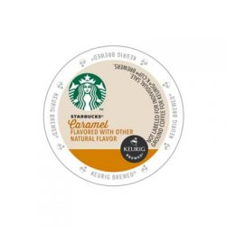Starbucks naturally flavored caramel k-cups