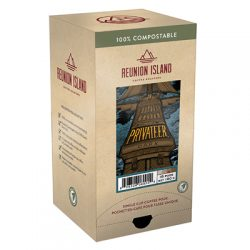 Reunion Island Privateer Dark coffee
