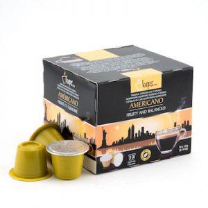 nespresso compatible capsules Americano