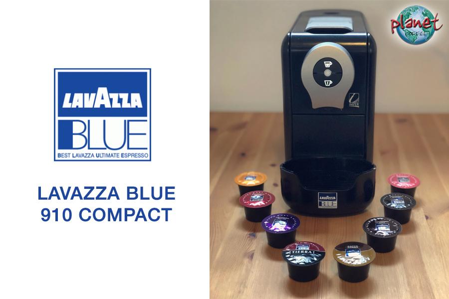 New LavAzza BLUE Automatic Compact Capsule Espresso Machine LB910