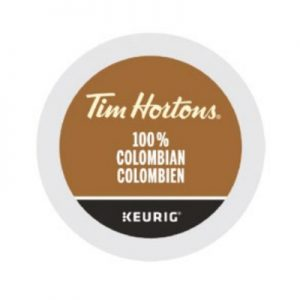 Tim Hortons 100% Colombia Keurig